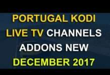 Portugal kodi channels